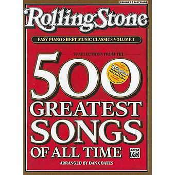 Rolling Stone Easy Piano Sheet Music Classics - Volume 1 - 39 Selectio