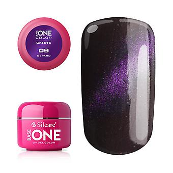 Base One-Cat eye-Cheetah 5g UV Gel