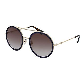 GUCCI GG0061S Black/Golden Brown Degraded