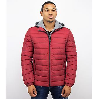 Short Jacket - Casual Jacket - Red