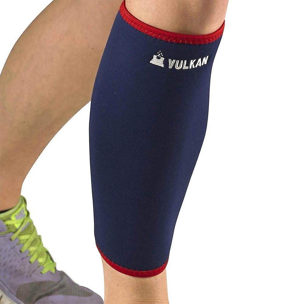 Vulkan Classic Elastic Calf Sports Injury Sleeve Support Blue