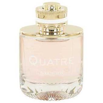 Quatre By Boucheron Eau De Parfum Spray (tester) 3.3 Oz (women) V728-531178