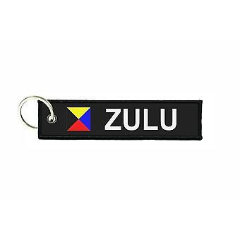 Türklammern stürzt Flagge Code Signale Signal maritime alphabet Z ZULU