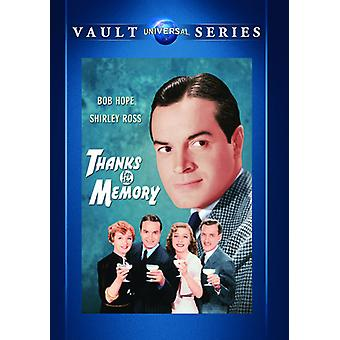 Obrigado pela memória [DVD] EUA importar