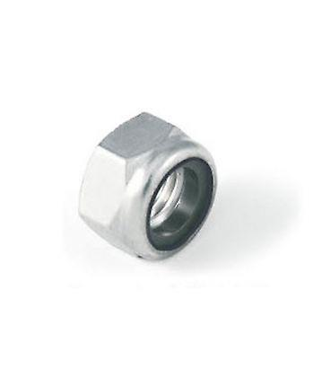 M4 Thin Type Nylon Insert Lock Nut Nyloc Type A4 Stainless Steel Din985