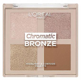 L'Oreal Chromatic Bronze Highlight & Contour Palette