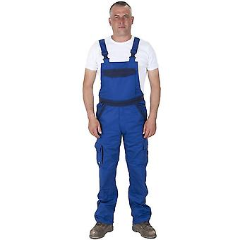 Dickies bib and brace dungarees - blue