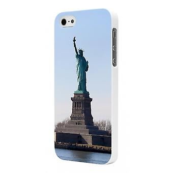 Moxie Rubber White Liberty Pattern Shell For Apple IPhone 5