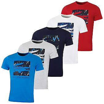 Lacoste Mens Tee Djokovic Andas Quick Dry Kamouflage Teknisk T-shirt