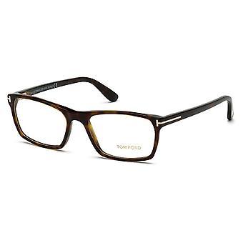 Tom Ford TF5295 52A Dark Havana-Smoke Glasses