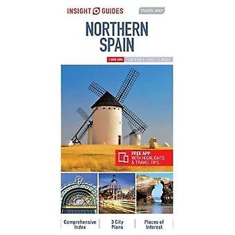 Insight Guides Travel Map of Northern Spain  Barcelona Map by Insight Guides