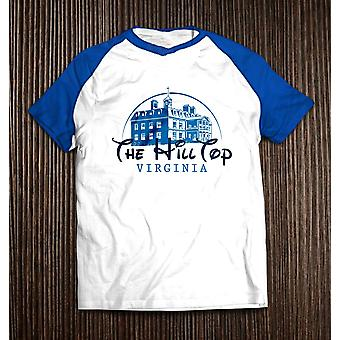 Men's the hilltop baseball t-shirt