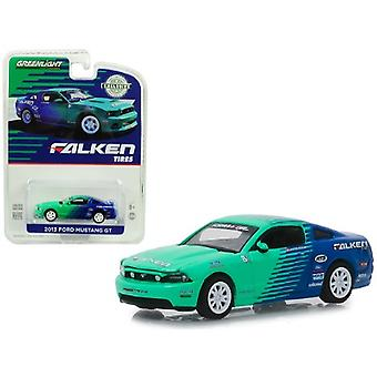 2013 Ford Mustang Gt Falken Tires Hobby Exclusive 1/64 Diecast Model Car By Greenlight