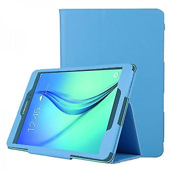 Light blue protective cover case for Samsung Galaxy tab A 9.7 T555 T555N T551 T550