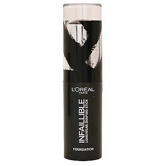 L'Oreal Infallible Foundation Longwear Shaping Stick 9g Ebony #250