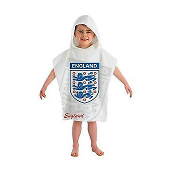 England Childrens/Kids Hooded Poncho Towel