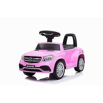 Licensed Mercedes Benz GLS63 Foot to Floor Electric Ride on Car Pink