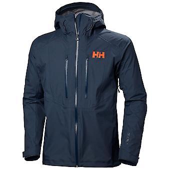Helly Hansen North Sea Blue Mens Verglas 3L Jacket