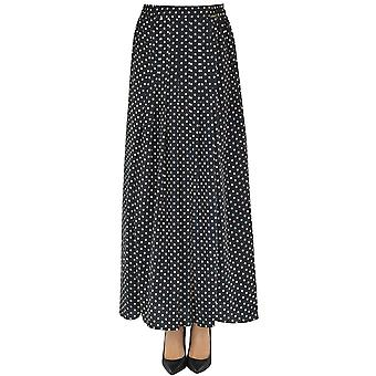 Nenette Ezgl266073 Women's Black Polyester Skirt
