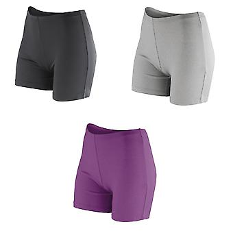 Spiro Womens/dames Softex Stretch sport Shorts