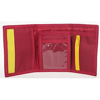 Harry Potter Roxfort Express Tri Fold Gyermekek's Wallet Burgundy