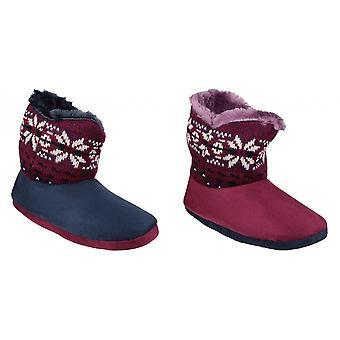 Mirak Womens/Ladies Bergen Bootie Slippers