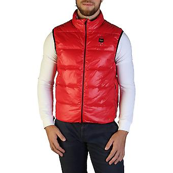 Blauer Original Men Fall/Winter Jacket - Red Color 35652