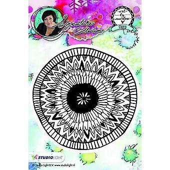 Studio Light Cling Stamp bloemen Kunst Door Marlene nr.06 STAMPBM06 10x10cm