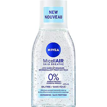 Nivea MicellAIR Eye Make-Up Remover, 125 ml