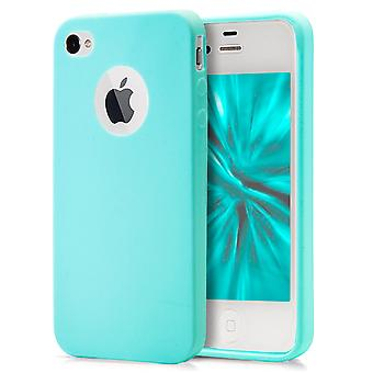 Shell pour Apple iPhone 4/4s Blue TPU Protection Case