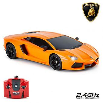 Lamborghini Aventador Radio Controlled Car 1:18 Scale Orange
