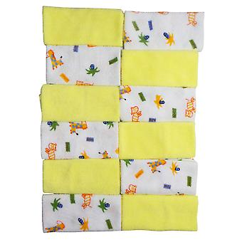 Bambini Twelve Piece Wash Cloth Set