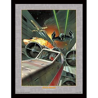 Star Wars Death Star Assault Framed Plate 30 * 40cm