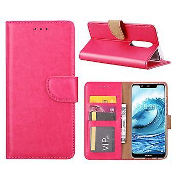 FONU Bücherregal Nokia 5.1 Plus - Schwarz