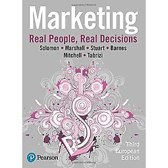 Marketing - Real People - Real Decisions by Michael R. Solomon - 97812