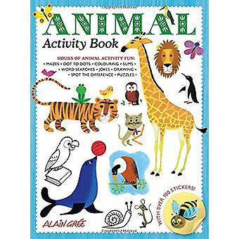 Animal Activity Book by Alain Gree - 9781787080188 Book