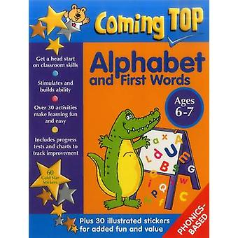 Coming Top - Alphabet and First Words - Ages 6-7 - 60 Gold Star Sticker