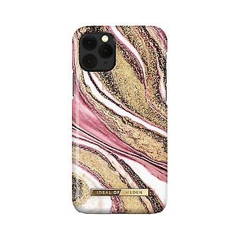 iDeal Of Sweden iPhone 11 Pro / XS / X Shell - Cosmic Pink Swirl