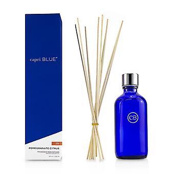Capri blauwe handtekening reed diffuser-granaatappel Citrus 236ml/8oz