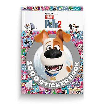 The Secret Life of Pets 2 - 1000 Stickers - 9781912841783 Book