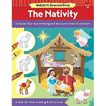 Watch Me Read and Draw - The Nativity - A step-by-step drawing & st