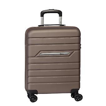 Fabrizio Worldpack Runway Hand Luggage Trolley S, 4 ruedas, 55 cm, 38 L, Brown