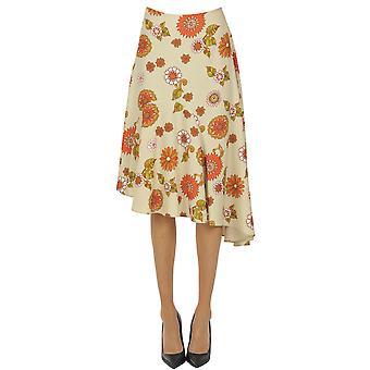 Dodo Bar Ezgl469007 Women's Beige Polyester Skirt