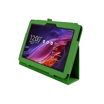 PU Leather Case Cover for Asus Transformer Pad TF303 TF303CL[Green]