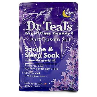 Dr Teal's Nighttime Therapy Pure Epsom Salt Sooth & Sleep Soak with Lavender Essential Oil By Dr Teal's 4 pounds Sooth & Sleep Soak with Lavender Essential Oil