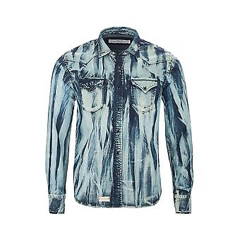 Replay Denim Shirt Shirt NIEUW
