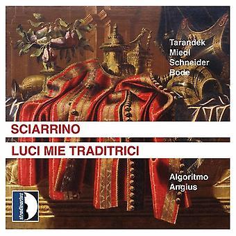 S. Sciarrino - Salvatore Sciarrino: Luci Mie Traditrici [CD] USA import