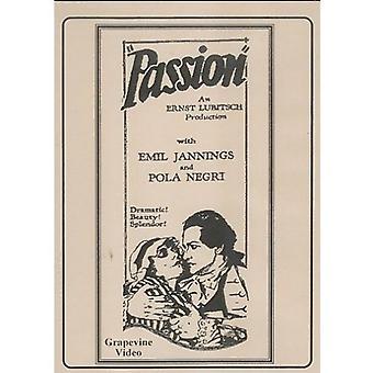 Passion-Madame Dubarry (1919) [DVD] USA import