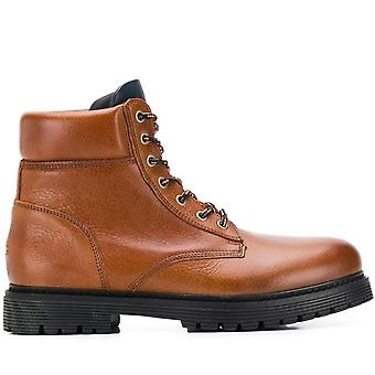 Tommy jeans tommy jeans ao ar livre botas quentes mens marrom