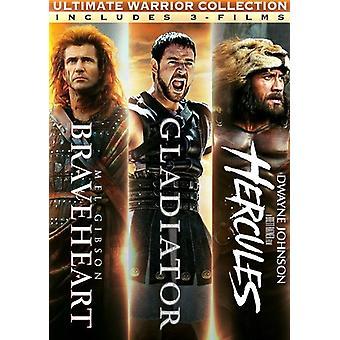 Braveheart / Gladiator / Hercules Triple Pack [DVD] USA import